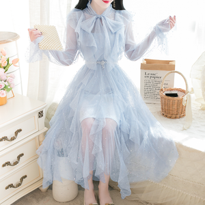 Sweet Net Yarn Dress AD12523