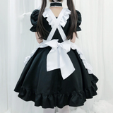 Cute Cat Maid Dress AD12790