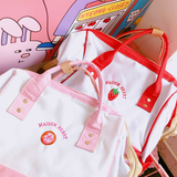 Sweet Strawberry High-capacity Backpack AD10339