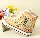 Harajuku Anime Hand-Painted Shoes AD10514
