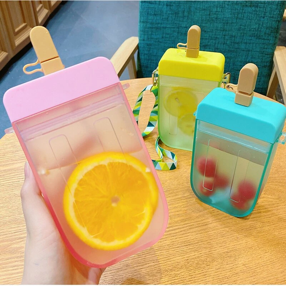 Plastic Transparent Portable Water Bottle AD11511