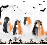 Hallowmas Witch Wigs AD10638