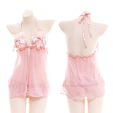 Peach Lingerie Outfits AD12285