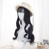 Sweet Big Wave Long Roll Wig AD11685