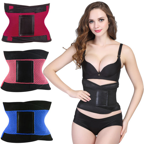 Waist Trainer Corset for Working Out with Velcro