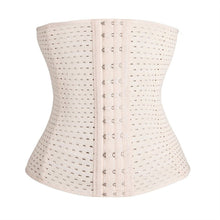 Women Corset Waist Training Cincher 4 Hooks Boned Hollow Body Shaper Shapewear