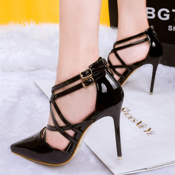Fashion Women sexy pumps heels lady shoes. Tacon alto de vestir para mujer