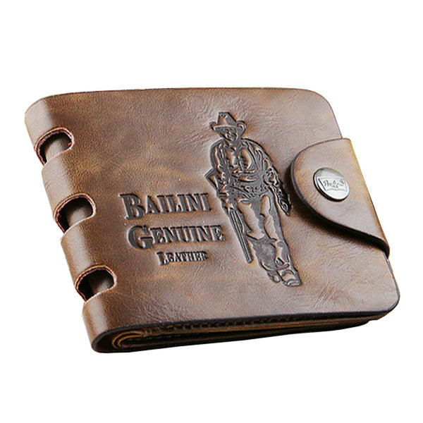 Bailini Luxury Leather Men Wallet. Billetera Bailini de Piel Para Hombre