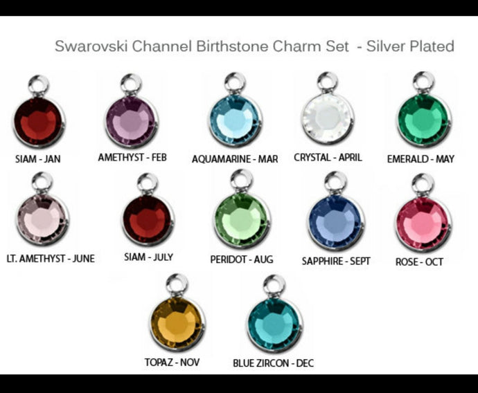 Add on Birthstone charm