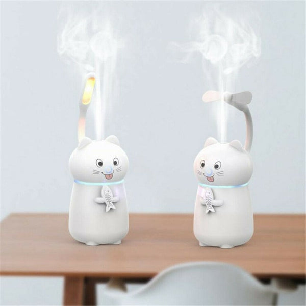 Kitty Cat Air Diffuser / Night Light
