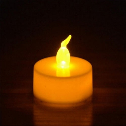 12 pcs Flickering Flameless LED Tea lights