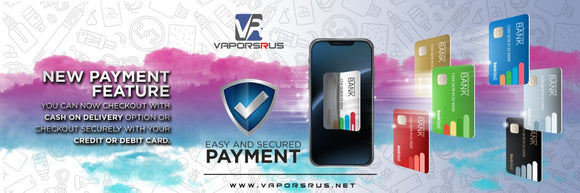 New secure payment options
