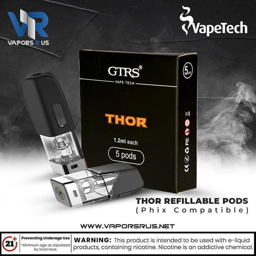THOR Refillable Pods(Phix Compatible)
