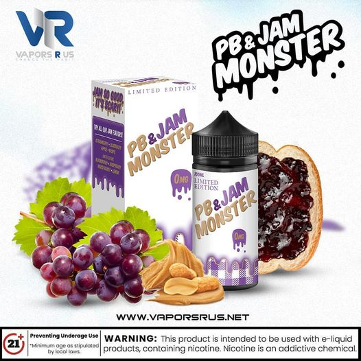 JAM MONSTER – PB & JAM GRAPE