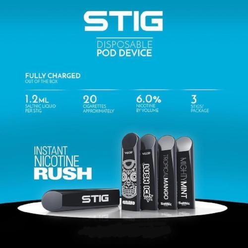 STIG DISPOSABLE POD | VGOD