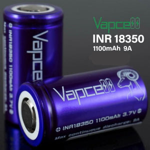 Vapcell 18350 1100mAh 9A Battery (Price Per Battery)