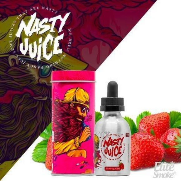 Nasty Juice - TRAP QUEEN STRAWBERRY | Nasty Juice