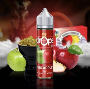 Drops By Blis Two Apples(Shisha)-60ml | Blis
