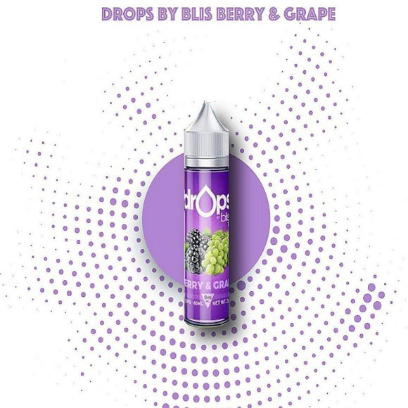 Drops By Blis Berry and Grape-60ml