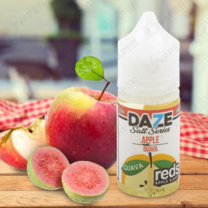 7 DAZE SALT - Reds Apple - Apple Guava