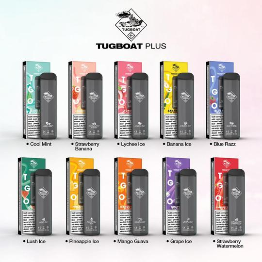 TUGBOAT PLUS DISPOSABLE POD DEVICE 800 PUFFS