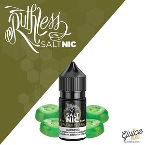 SWAMP THANG | RUTHLESS SALT NICOTINE | UAE Vapors R Us - The first vape store in UAE