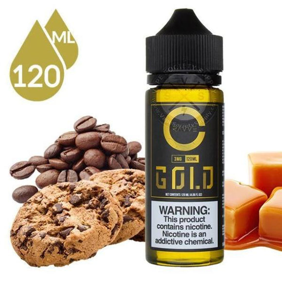 Gold E-Juice by Cravve 120ml | Ruthless Vapor