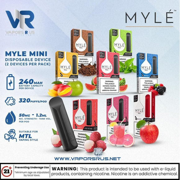 Myle Mini Disposable Device