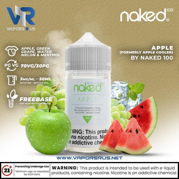 NAKED 100 - APPLE COOLER