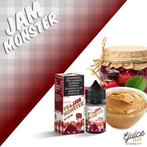 PB & JAM MONSTER - STRAWBERRY [SALTNIC]