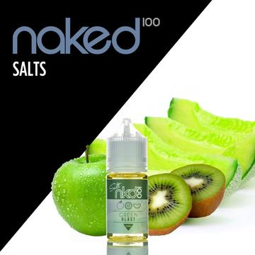 NAKED 100 SALTS - GREEN BLAST | UAE Vapors R Us - The first vape store in UAE