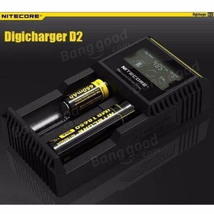 NITECORE DIGICHARGER D2 | UAE Vapors R Us - The first vape store in UAE