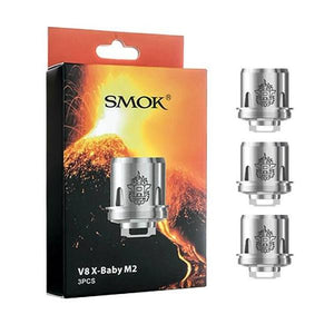 TFV8 X-Baby M2 Dual Core 0.25 ohm Replacement Coils - 3-Pack | UAE Vapors R Us - The first vape store in UAE