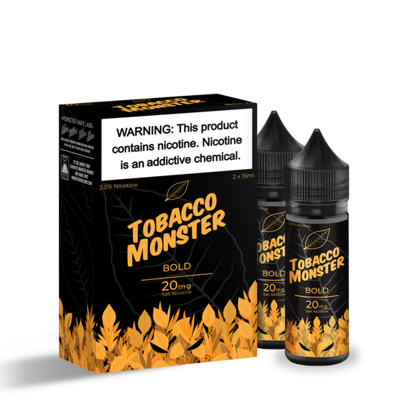 Tobacco Monster SaltNic - Bold