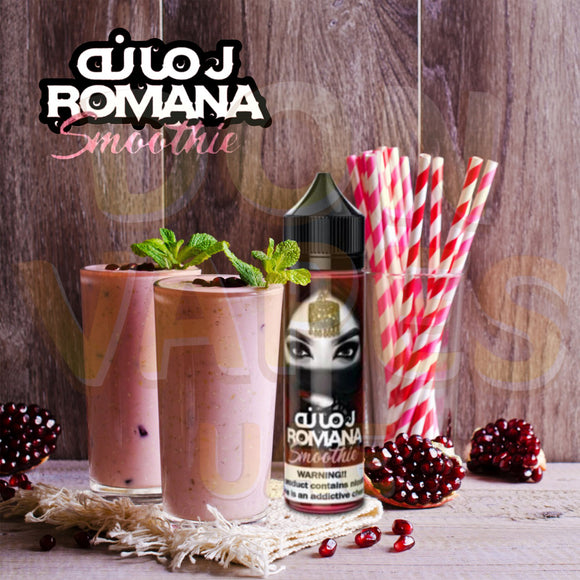 ROMANA Smoothie (60ml) | UAE Vapors R Us