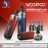 VOOPOO V SUIT 40W VW Pod Kit 1200mAh