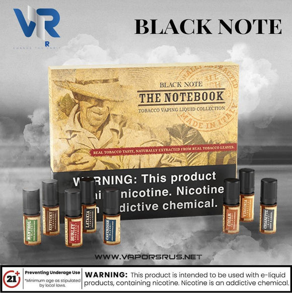 THE NOTEBOOK - BLACK NOTE E-JUICE