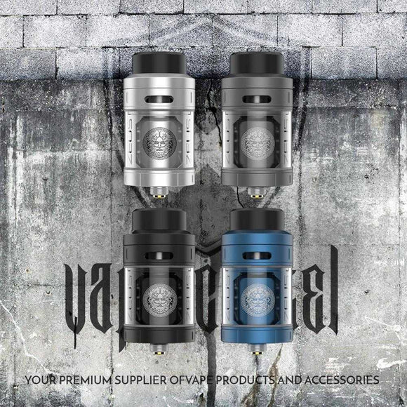 ZEUS RTA TANK ATOMIZER 25MM | UAE Vapors R Us - The first vape store in UAE