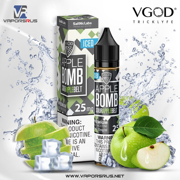 ICED APPLE BOMB [SALTNIC] | VGOD