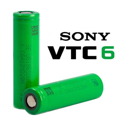 Sony 18650 VTC6 3000mAh (Pack of 2)