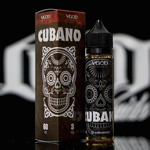 VGOD - 60ml Cubano | UAE Vapors R Us - The first vape store in UAE