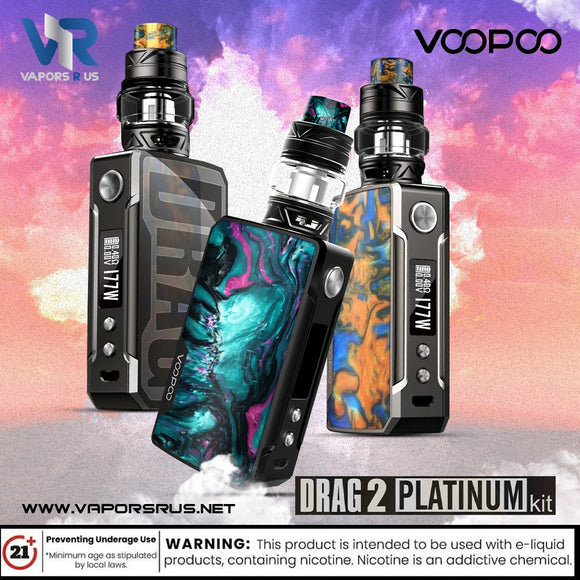 VOOPOO Drag 2 177W Kit-Platinum Edition