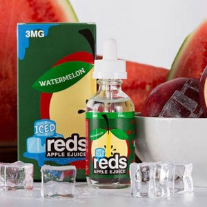 7 DAZE - Red's Apple - Apple Watermelon Iced