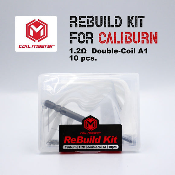 Coil Master ReBuild Kit for Caliburn 1.2