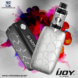 iJoy Mystique Mesh Kit – 165W Box Mod Kit With Mesh Disposable Tank | ijoy