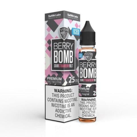 ICED BERRY BOMB SaltNic | VGOD