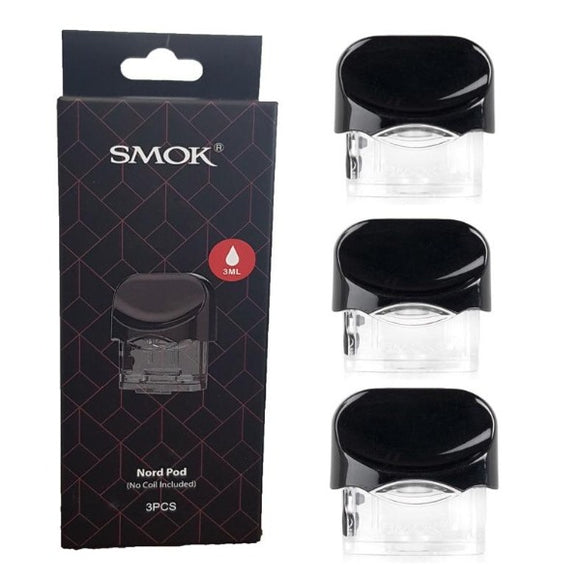 SMOK NORD Replacement Pod x 3 Cartridges | SMOK