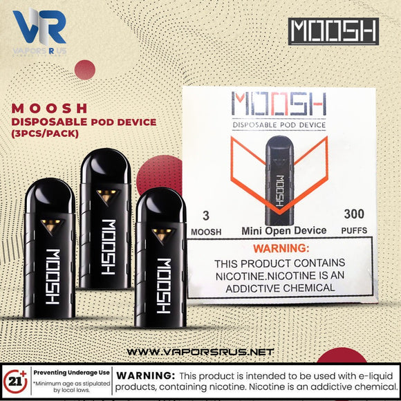 MOOSH DISPOSABLE POD DEVICE (3pcs/Pack)