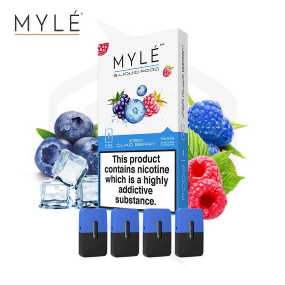 MYLE POD - Iced Quad Berry