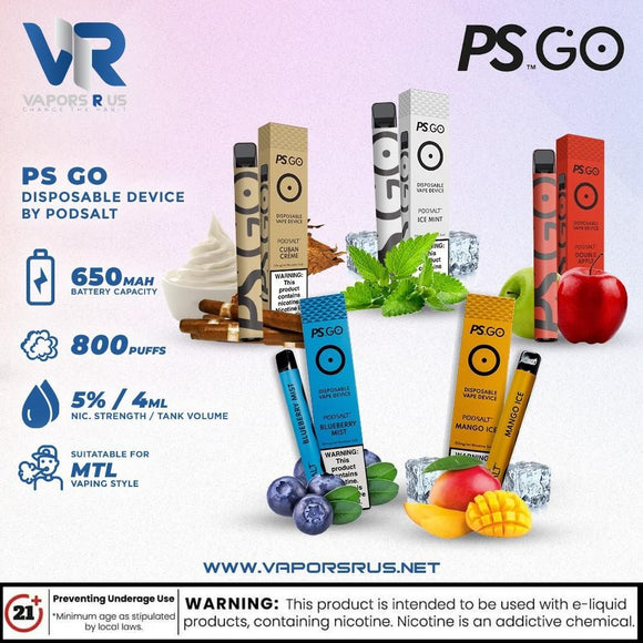 PS GO Disposable Device By PODSALT